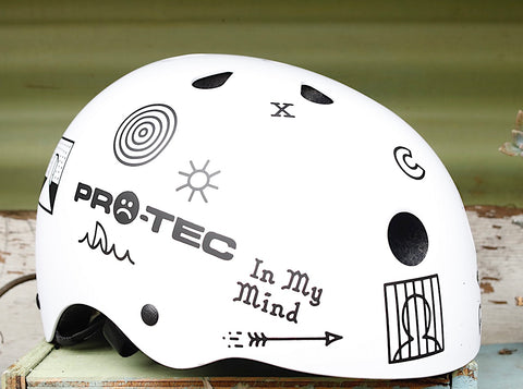 PROTEC HELMETS -Protec Classic Cult Collab Certified Helmet -HELMETS + PADS + GLOVES -Anchor BMX