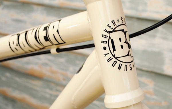 SUNDAY -Sunday Baker High C 29 Inch 2021 Classic White -Complete Bikes -Anchor BMX