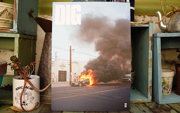 DIG -Dig Book 2020 -Magazines + stickers+patches -Anchor BMX