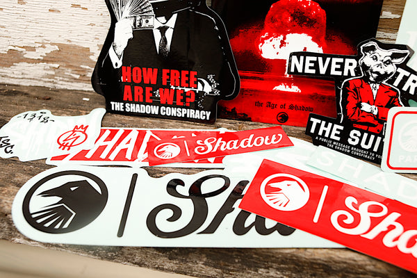 THE SHADOW CONSPIRACY -TSC Assorted Sticker Kit 2020 -Magazines + stickers+patches -Anchor BMX