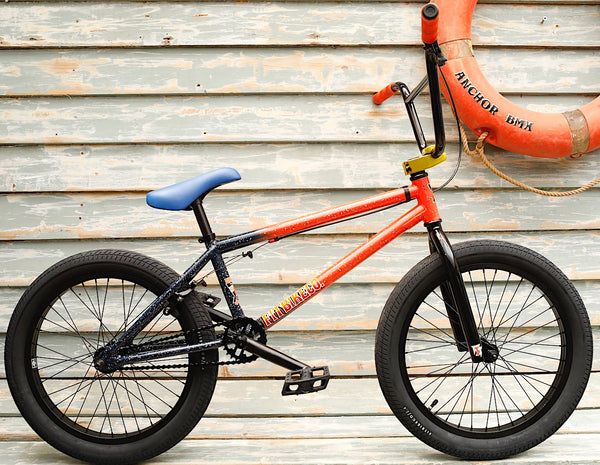 Fit Bike Co. -Fit Bike Co Series One 2021 Orange/Blue/White -Complete Bikes -Anchor BMX