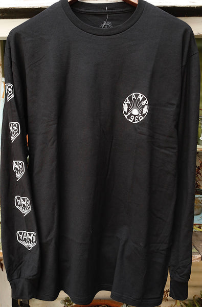 Vans -Vans Dakota Roche Logo Long Sleeve Tee -CLOTHING -Anchor BMX