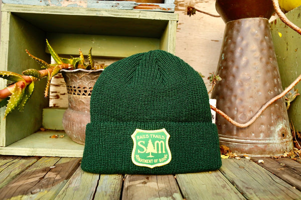 S & M bikes -S&M Dept Of Biking Beanie -HATS + BEANIES + SHADES -Anchor BMX