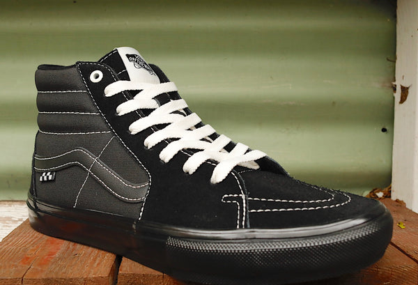 VANS -Vans Sk8-Hi Pro Black -Shoes -Anchor BMX