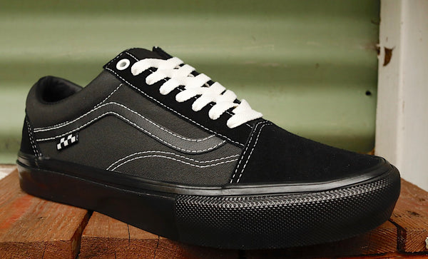 VANS -Vans Old Skool Pro Black -Shoes -Anchor BMX
