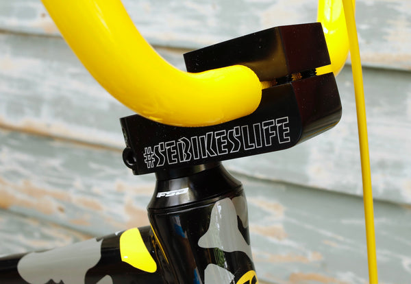 SE BIKES -Se So Cal Flyer 24 Inch Yellow Camo 2021 -Complete Bikes -Anchor BMX