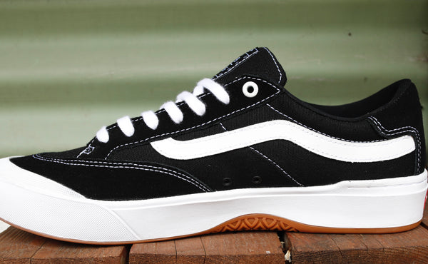 Vans -Vans Berle Pro Shoes Black/White -Shoes -Anchor BMX