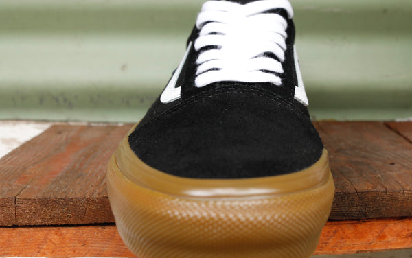 VANS -Vans Old Skool Pro Blk/White/Gum -Shoes -Anchor BMX