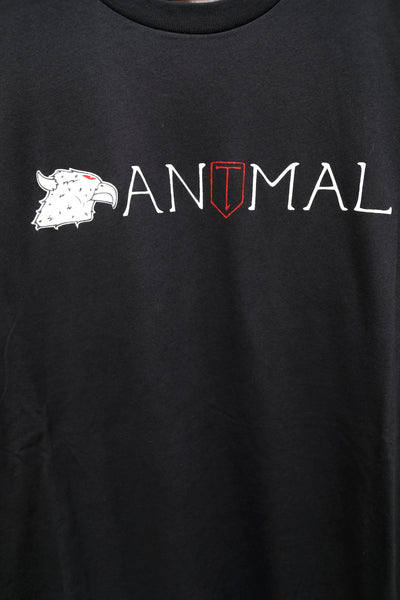 Animal -Animal vs T1 Tee -CLOTHING -Anchor BMX