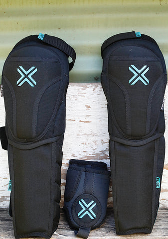 FUSE PROTECTION -Fuse Echo 125 Knee + Shin + Ankle Combo -HELMETS + PADS + GLOVES -Anchor BMX