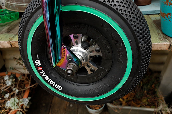WILDCAT -Wildcat Ultimate Mini Bmx Green Oil Slick -Complete Bikes -Anchor BMX