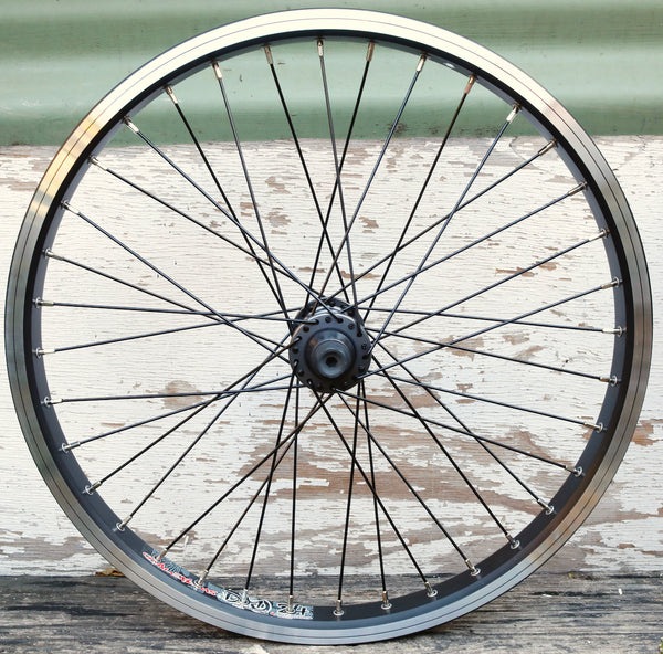 ODYSSEY -Odyssey Vandero 2 Custom Front Wheel -WHEELS + SPOKES + BUILDS -Anchor BMX