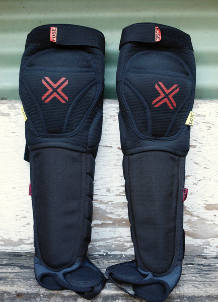 FUSE PROTECTION -Fuse Delta 125 Knee/Shin/Ankle Pad -HELMETS + PADS + GLOVES -Anchor BMX