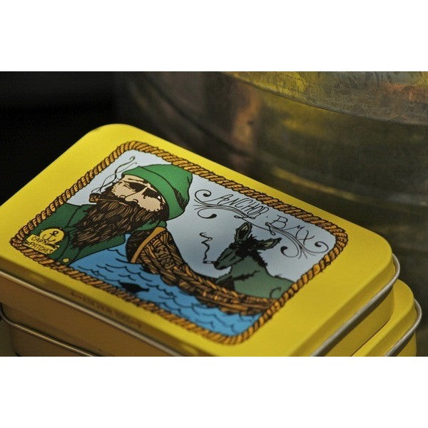 THE ANCHOR CAP'N PATCHES STICKER TIN - Anchor BMX