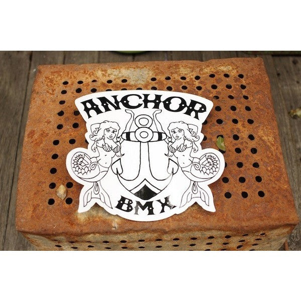 Anchor BMX -Anchor Bmx Logo Sticker - Big Boy -Magazines + stickers+patches -Anchor BMX