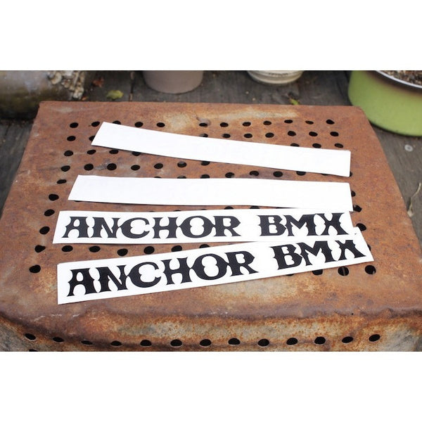 Anchor BMX -Anchor Bmx Vessel Decals -Magazines + stickers+patches -Anchor BMX