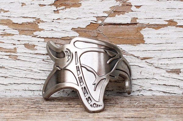 Animal Head Tube Badge - Anchor BMX