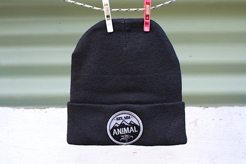 Animal Mountain Top Beanie - Anchor BMX
