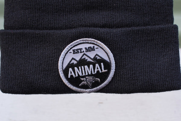 Animal -Animal Mountain Top Beanie -HATS + BEANIES + SHADES -Anchor BMX