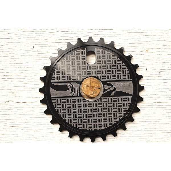 Animal Thorofare Sprocket Blk - Anchor BMX