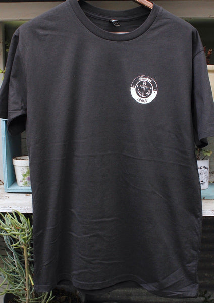 Anchor BMX -Anchor Bmx Maggie Tee Black -CLOTHING -Anchor BMX
