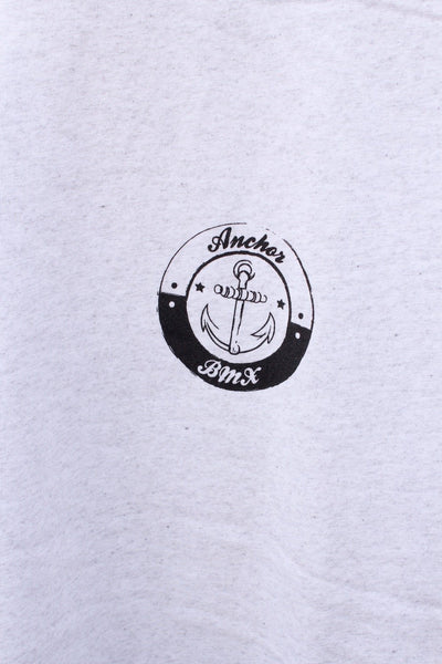 Anchor BMX -Anchor Bmx Maggie Tee White Marle -CLOTHING -Anchor BMX