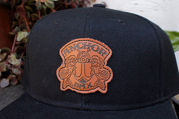 Anchor BMX -Anchor Patch Snapback Hat -HATS + BEANIES + SHADES -Anchor BMX