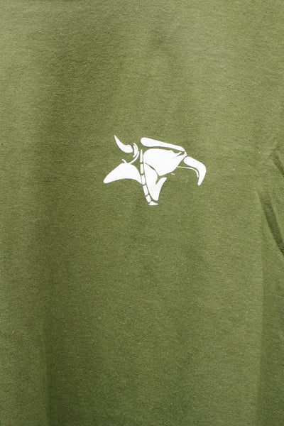 Animal -Animal Street Light Tee Olive -CLOTHING -Anchor BMX