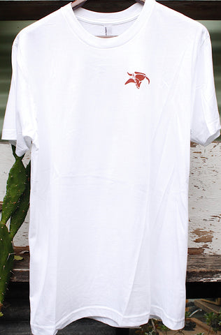 Animal -Animal Street Light Tee White -CLOTHING -Anchor BMX