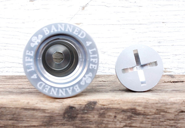 Banned Stash Top Cap - Anchor BMX