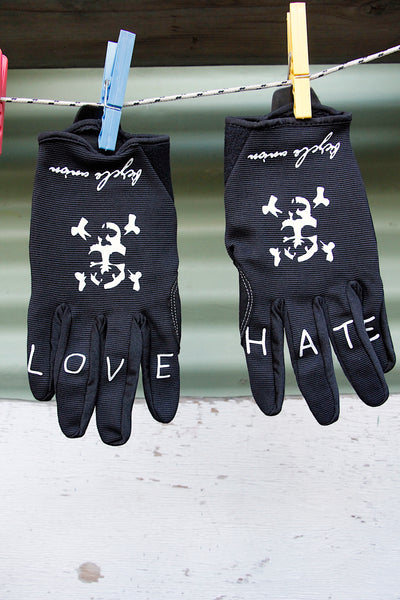 BICYCLE UNION LOVE HATE GLOVES - Anchor BMX