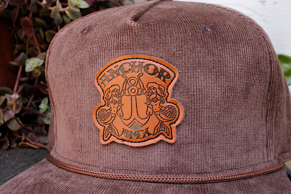 Anchor Big Brown Cord Hat - Anchor BMX