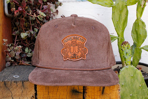 Anchor BMX -Anchor Big Brown Cord Hat -HATS + BEANIES + SHADES -Anchor BMX