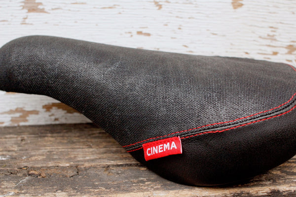 Cinema Waxed Canvas Stealth Seat - Anchor BMX