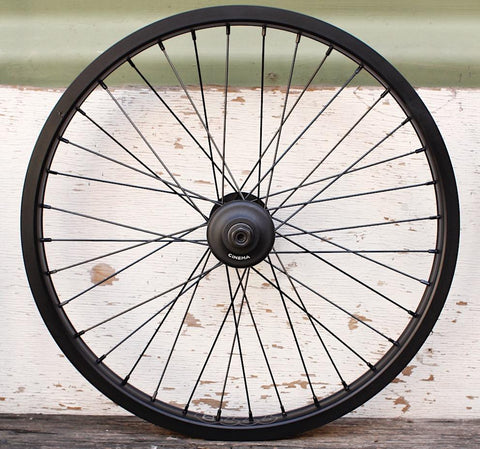 CINEMA WHEELS -Cinema ZX 333 Front Wheel -WHEELS + SPOKES + BUILDS -Anchor BMX