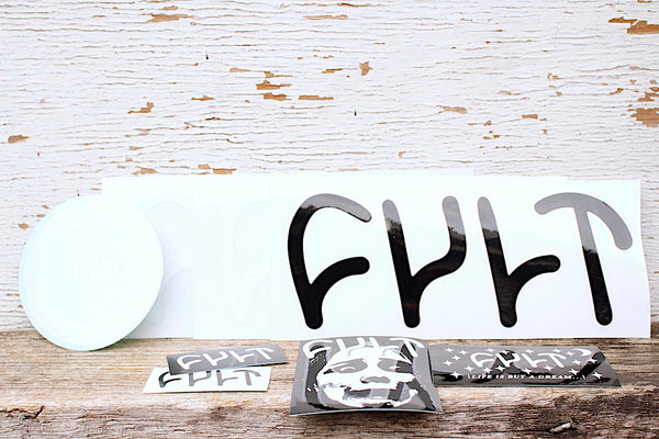 Cult Sticker Packs - Anchor BMX
