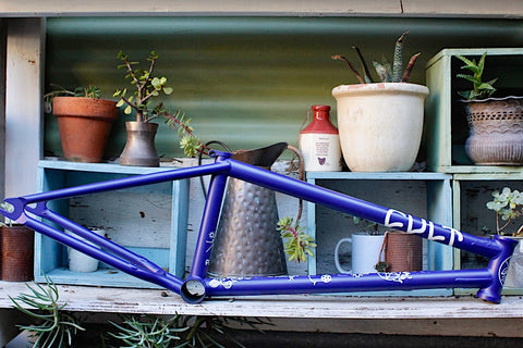 Cult Walsh Frame Blue - Anchor BMX