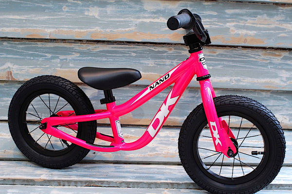 Dk Bikes Nano Balance Bike Hot Pink - Anchor BMX