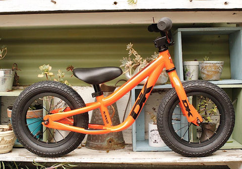 DK -Dk Bikes Nano Balance Bike Orange -Complete Bikes -Anchor BMX