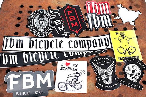 FBM BMX -Fbm 2018 Sticker Set -Magazines + stickers+patches -Anchor BMX