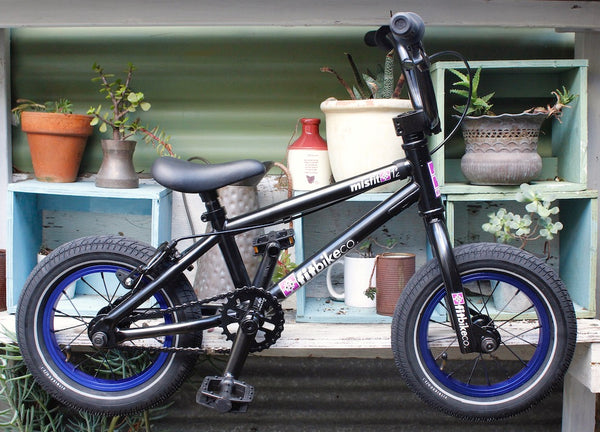Fit Bike Co. -Fit Bike Co Misfit 12 Inch 2020 Black Blue -Complete Bikes -Anchor BMX