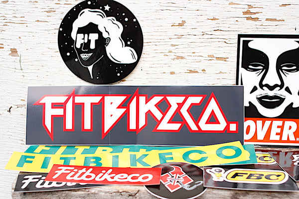Fit Bike Co Mixed Sticker Pack - Anchor BMX