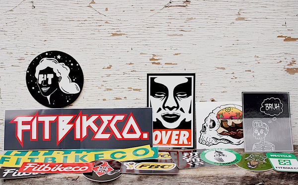 Fit Bike Co Mixed Sticker Pack