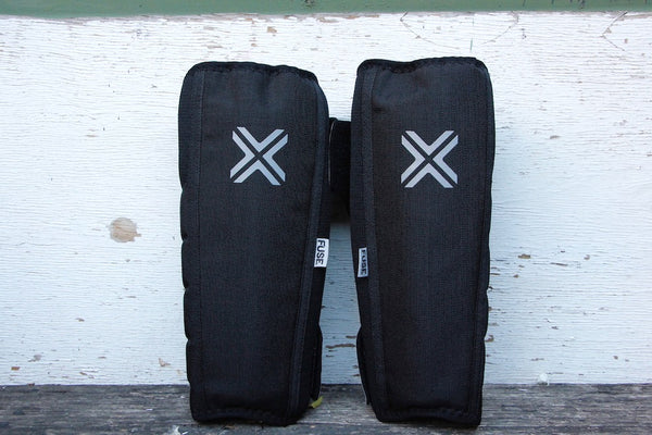 FUSE PROTECTION -Fuse Alpha Shin Whip Pads -HELMETS + PADS + GLOVES -Anchor BMX