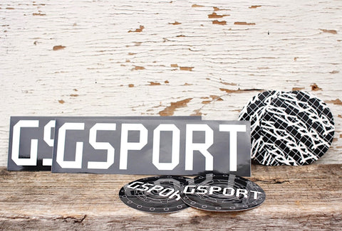 GSPORT -Gsport Sticker Pack -Magazines + stickers+patches -Anchor BMX
