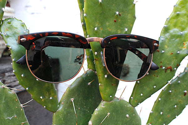 HAPPY HOUR SHADES -Happy Hour G2's Cyril Frosted Tortoise -HATS + BEANIES + SHADES -Anchor BMX