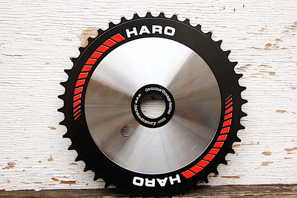 Haro Team Disc Sprocket black red chainring