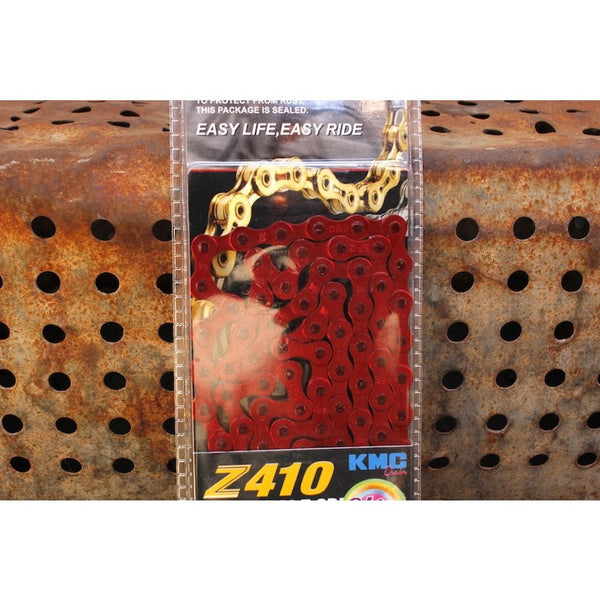 KMC Z410 CHAIN COLOURED - Anchor BMX