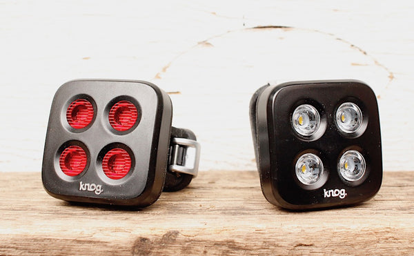 Knog Blinder MOB The Face Twinpack - Anchor BMX