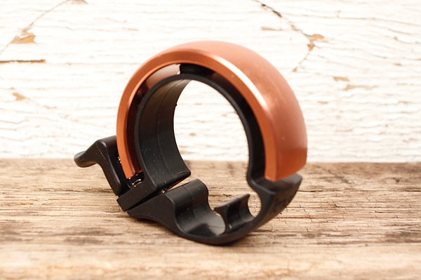 KNOG OI BIKE BELL LARGE COPPER